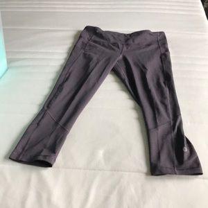 Dusty Purple Lululemon Crop Pants